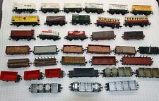 H0 Fleischmann 35 Güterwagen, teils mit Beladung