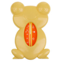 Cute Floating Frog Toy Bath And Room Tub Thermometer High Temperature , PP