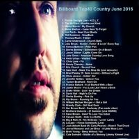 Country Music Promo DVD Billboard Top40 Country Hits June 2016 NEW ONLY on Ebay!