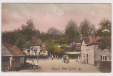 CHURT - POST OFFICE - NR WAVERLEY  - HINDHEAD AND FARNHAM - SURREY - POSTCARD