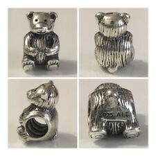 PANDORA TEDDY BEAR CHARM REF 790395 S925 ALE DISCONTINUED