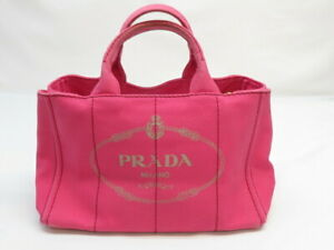 PRADA CANAPA Tote Bag Pre-owned With out Guarantee Card Pre-owned #16