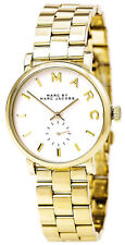 Marc Jacobs MBM3243 Baker White Dial Gold Tone Stainless Steel Women's Watch