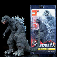 """NECA Monster King Godzilla 2001 PVC 6"""" Action Figure Play toy Gift Head-Tail 12"""""""