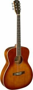 BES-A DCBAkustische Auditorium-Gitarre mit massiver Fichtendecke Cherryburst