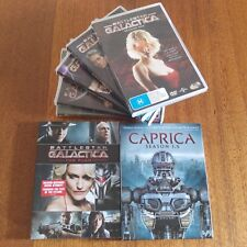 Battlestar Galactica : Complete Seasons 1 - 4 DVD, The Plan & Caprica Season 1.5