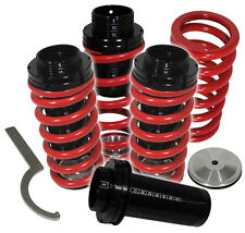 94-01 ACURA INTEGRA LS RS GS GSR JDM SCALED COILOVER LOWERING SPRING SET RED