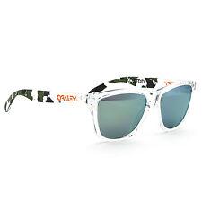 NEW Oakley Eric Koston Signature Frogskin Sunglasses 24-436 Emerald Green Camo