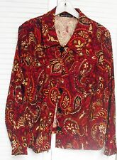 """Women's Plus Size 3X, Jacket by """"Briggs New York."""" Multicolors"""