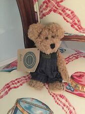 Boyds Bears and Friends Bear name Huck Overalls