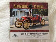 Farmers Insurance Automotive Classics  2000 Calendar