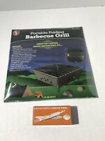 Barbecue Grill BBQ Portable Folding Survival Hiking Camping Outdoor Cooking New