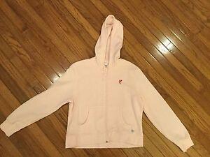 Womens ASHWORTH GOLF Sweatshirt Hoodie Pink Size M