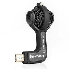 Saramonic Pro Microphone Stereo Ball Go-Mic for Gopro Hero 4 3+ 3 Camera