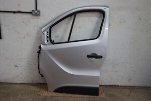 Vauxhall Vivaro B 2014 - 2019 X82 Front Left Door Silver
