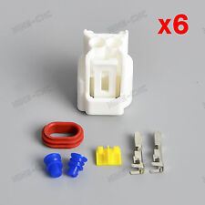 6 PACKS Pencil Coil Connectors Terminals For Honda CBR600RR/F4I Yamaha R1/R6