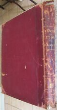 More details for the times daily newspaper, huge bound volume, 1908 july, aug, sep, 50 newspapers