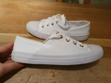 CONVERSE ALL STAR PU OX TRAINERS LADIES SIZE UK5 EU37.5 GENUINE GOOD CONDITION