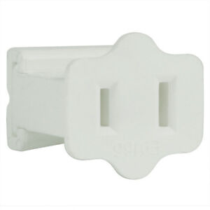 White SPT-1 Female Socket SPT-1 Gilbert Plug Quick Plug Vampire Plug