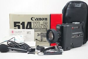 """""""All Work MINT"""" CANON 514XL-S CANONSOUND Super 8 8mm Movie Film Camera From Jp"""