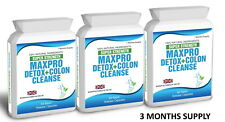180 Bio Colon Cleanse Slim Extreme Detox 3 Month Supply Plus Dieting Meal Plan