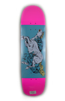 NOS Welcome skateboard deck Goodbye Horses on Son of Planchette RARE