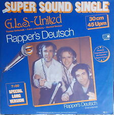 "12"" Maxi  G.L.S.-United - Rapper`s Deutsch ,VG+,Metronome – 0930.005 ,Rar"