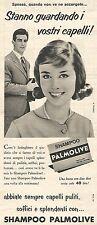 W8682 Shampoo PALMOLIVE  - Pubblicità del 1958 - Vintage advertising