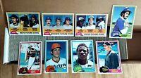 1981 Topps Baseball Set Complete 1-726 Baines Gibson Fernando Raines RC Rookies