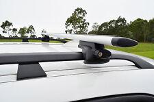 Hyundai i30 07-12 CW wagon Aero Roof Rack Cross Bar Alloy Lockable 120cm