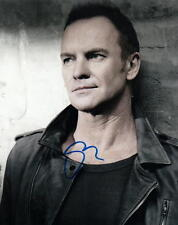 STING.. Roxanne Singer (The Police) SIGNED