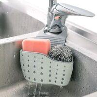 Cutlery Drain Basket Sink Storage Kitchen Supplies Hanging Basket Washing Brush