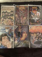 Lot Of 6 Rock Comics. The Beatles, Bob Dylan, LED Zeppelin Excellent condition