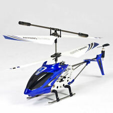 SYMA S107G IR REMOTE CONTROL GYRO INDOOR HELICOPTER RC CHOPPER FULL KIT BLUE