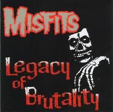 MISFITS (Danzig Samhain) - LEGACY OF BRUTALITY (1985)Hardcore Punk CD Jewel+GIFT