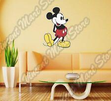 "Mickey Mouse Vintage Retro Old Funny Wall Sticker Room Interior Decor 17""X25"""