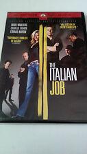 "DVD ""THE ITALIAN JOB"" COMO NUEVA EEC MARK WAHLBERG CHARLIZE THERON EDWARD NORTON"
