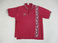 VINTAGE Nike Florida State Seminoles Polo Shirt Adult Extra Large Red FSU 90s*