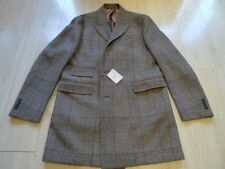 Regular Size Wool Overcoat for Men