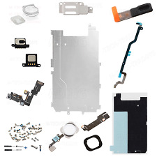 FULL LCD DISPLAY 12PC REPAIR PARTS FOR IPHONE 6 4.7 HOME BUTTON CAMERA SPEAKER W