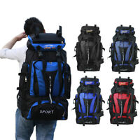 70L Waterproof Backpack Tactical Travel Hiking Camping Outdoor Shoulder Bag Pack