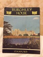 VINTAGE TOURIST GUIDE HANDBOOK BURGHLEY HOUSE STAMFORD LINCOLNSHIRE