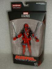 "Marvel Legends DEADPOOL Classic Red Costume BAF Sasquatch X-Force 6"" NEW Sealed"