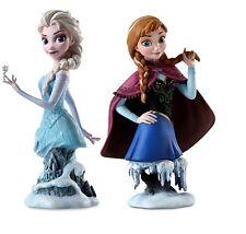 Disney store authentic Frozen figurine set Elsa Anna