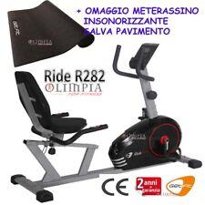 GetFIT - Cyclette MAGNETICA Recumbent  RIDE R282 Seduta Regolabile + OMAGGIO !!