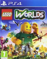 NEW & SEALED! Lego Worlds Sony Playstation 4 PS4 Game