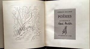 STÉPHANE MALLARMÉ : POÉSIES - ILLUSTRATIONS DE HENRI MATISSE