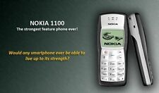 Nokia 1100 with Nokia Battery and Compatible Charger-Imported