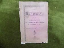 Consécration de l'Eglise du Sacré-Coeur de la TREMBLADE Charente-Inférieure 1895