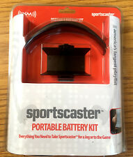 Brand New XM Sportscaster Portable Battery Kit Satellite Radio Antenna Headphone